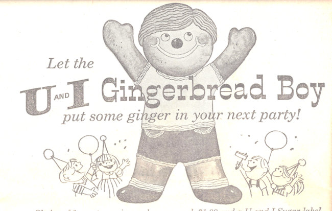 Gingerbread boy is oblivious