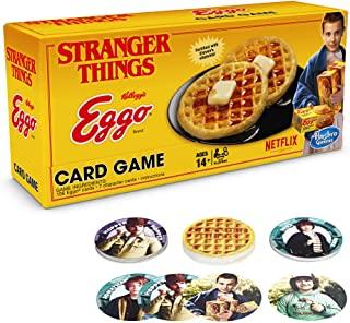 Stranger Things Eggo Game;  It's evil Uno