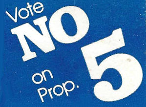 Vote no on what now?