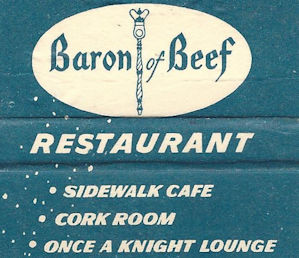 No Baron of Beef, I had Captain Crunch for dinner.