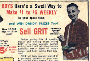 The manly art of selling newspapers